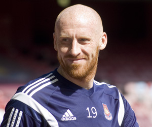 Gordon Thrower's Man of the Match: James Collins