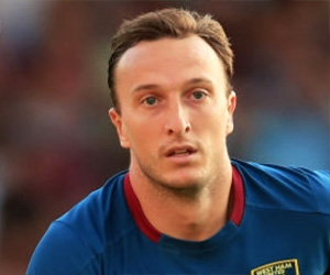 East Stand Martin's Man of the Match: Mark Noble