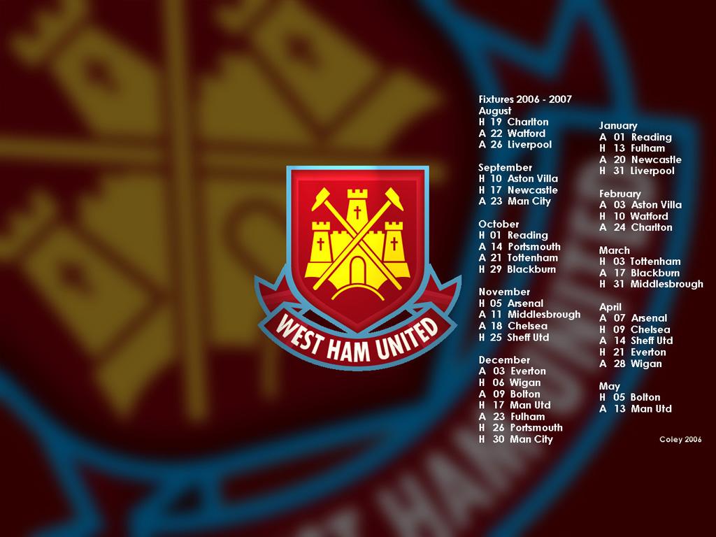 west ham fixtures - news & photos   wvphotos